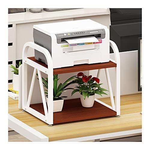 Soportes de Impresora Doble Capa multiuso de la impresora soporte de sobremesa estante del soporte de almacenamiento de escritorio for la impresora 3D Mini Soporte de Impresora para Escritorio