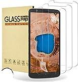 RIIMUHIR Cristal Templado para Motorola Moto G6 Plus, [3 Piezas] Protector de Pantalla para Motorola Moto G6 Plus, Vidrio Templado, Anti-Rasguños, Sin Burbujas, Alta Definicion