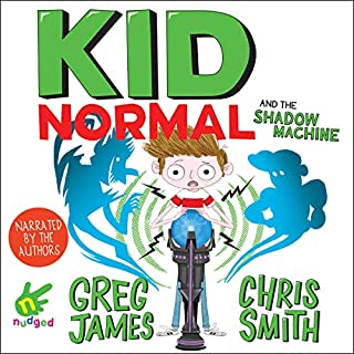 Kid Normal and the Shadow Machine audiobook cover art