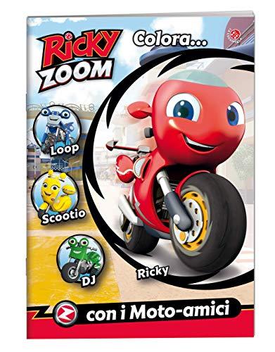 Colora... con i moto-amici. Ricky Zoom. Ediz. a colori