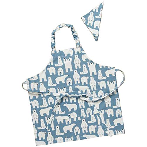 レップ 三角巾 ブルー 幅54×奥行58×高さ1cm キッズエプロン コニー 452639