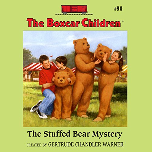 The Stuffed Bear Mystery audiobook cover art