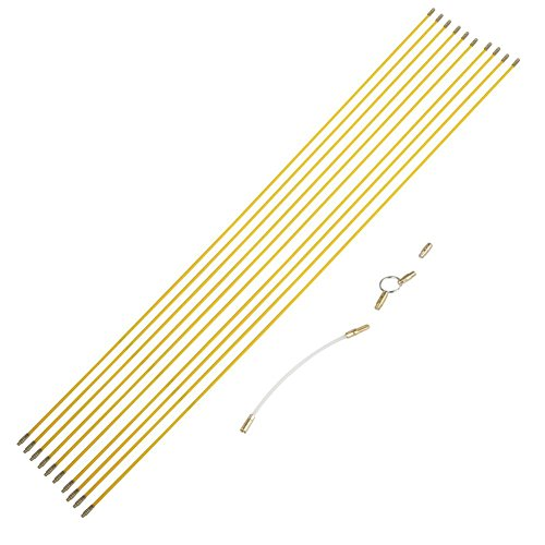 Cable de Fibra de Vidrio, 10 Piezas Cable de Cable de Fibra...