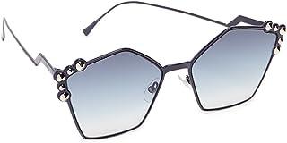فيندي نظارات شمسية للنساء, ازرق
