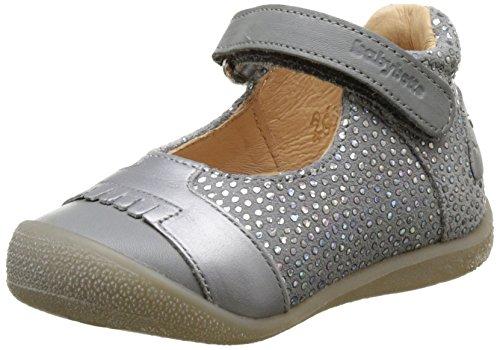 Babybotte SIA, Zapatillas Altas para niña, (Plata), 19 EU