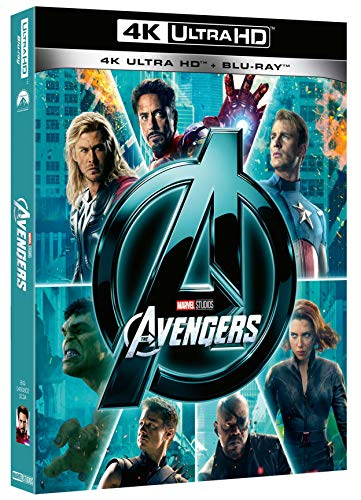 The Avengers (Blu-Ray 4K Ultra HD+Blu-Ray) [Italia] [Blu-ray]