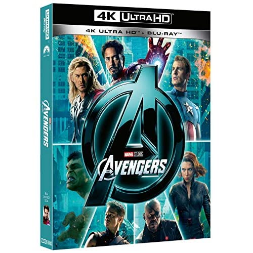 Avengers 4k (2 Blu Ray)