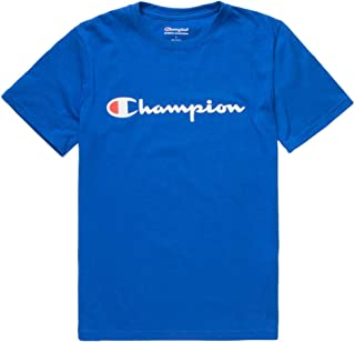 Boys Short Sleeve Logo Tee Shirt