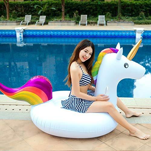 Dracarys Giocattolo Gigante Giocattolo Unicorno Piscina Letto Galleggiante Unicorno Generale & Adulto & Bambino Anello Nuoto Sedia di Ricreazione dell'Acqua
