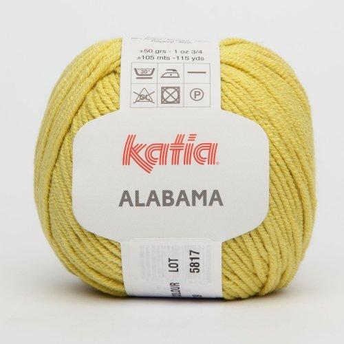 41 - 50 g // ca ALABAMA von Katia 105 m Wolle ESMERALDA