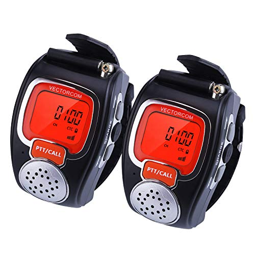 VECTORCOM Portable Digital Wrist Watch Walkie Talkie Two-Way...