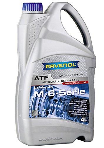 RAVENOL ATF M 6 Series/getriebeöl Automatique pour MB 236.10, 4 l