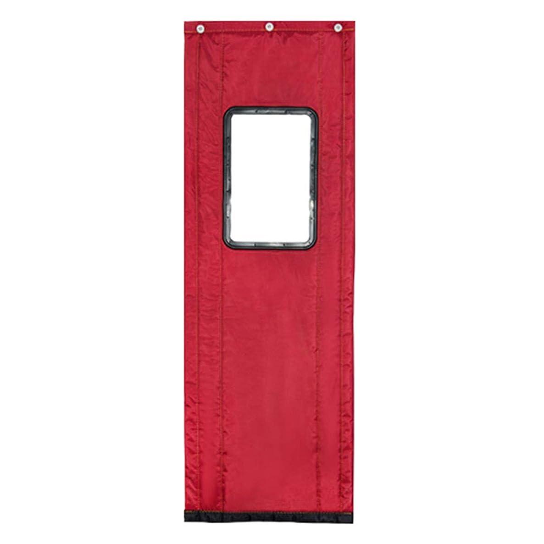 キモいアカデミックスワップWUFENG ドアカーテン コットン 厚い 暖かく保つ 防風 断つ 防水 アウトドア、 4のスタイル 複数のサイズ カスタマイズ可能 (色 : C, サイズ さいず : 120x210cm)