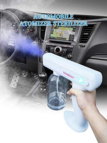 9th Gen Cordless Healinghands Spraygun 100% Natural Atomizer Sterilizer Double Action Cold Mist Nano Spray Gun Handheld Portable Rechargeable and Blue Light Rays Not Anion guns