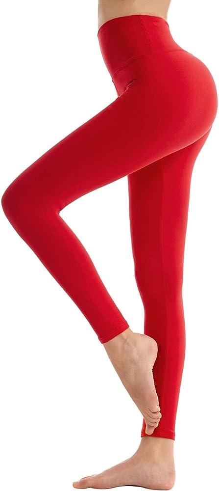 Sinophant, leggings per donna fitness, pantaloni sportivi yoga vita alta, controllo della pancia