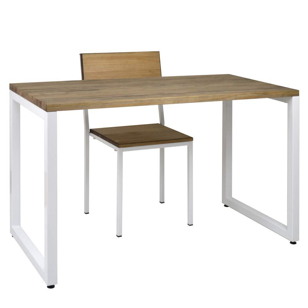 IKEA LINNMON/Aðils - Mesa, blanco - 100x60 cm: Amazon.es: Hogar