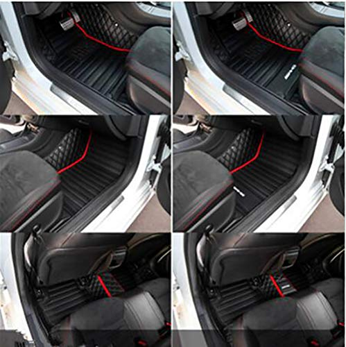 Fit for Jaguar F-Pace 2017 2018 2019 2020 2021 Custom Fully Surrounded Waterproof Non-Slip All Weather Leather Car Floor mat with Logo