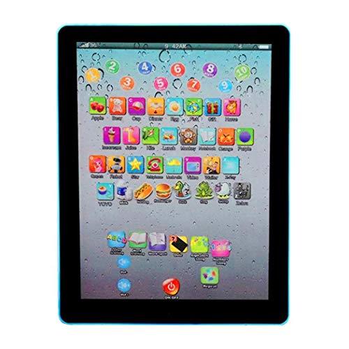 Anstsy Pantalla tctil para nios Tablet Pad English Learning Early Education Machine Ordenadores educativos