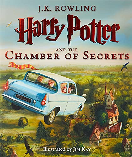 Harry Potter and the Chamber of Secrets: The Illustrated Edition (Illustrated) (2)