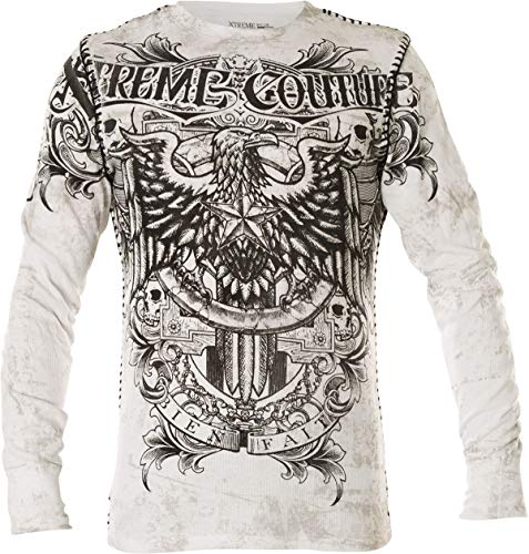 Xtreme Couture by Affliction Pullover Patron Weiß, M