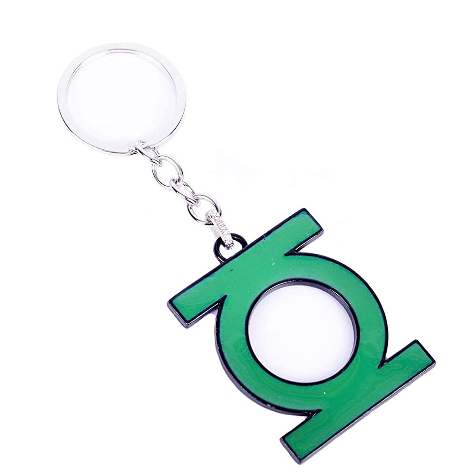Green Lantern Pop Keychain DC Comics Accessories Metal Pendant Charm Gifts for Teen Boy Girl Best Friend/Collection
