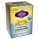 海外直送品 Yogi Teas / Golden Temple Tea Co Comforting Chamomile Tea, 16 Bags
