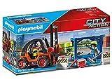 PLAYMOBIL City Action 70772 Carretilla elevadora con Carga, A...
