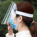 LUFF 4 Pezzi Maschera Protettiva, Occhiali antiappannamento, Anti Fumo, riutilizzabili, Unisex, per Bambini