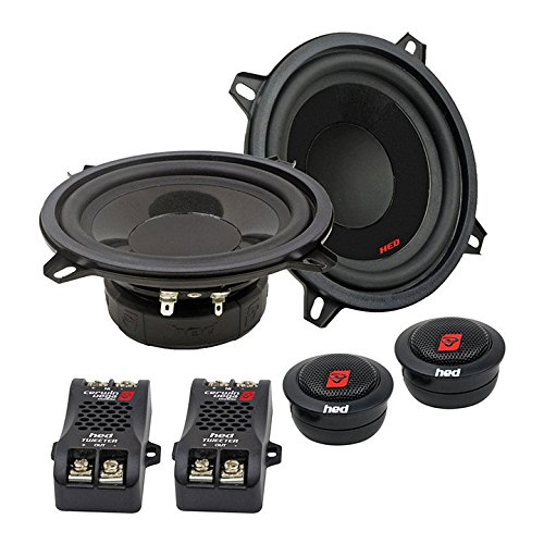 """Cerwin Vega H7525C 5.25"""" 720W Max / 100W RMS HED Series 2-Way Component Car Speakers"""