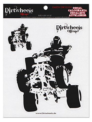 Motocross Aufkleber Quad ATV MX Sticker 104