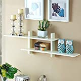 zhjbd espositore per decorazione domestica/creativo wall hanging wall hanging pensile gabinetto pensile governo di immagazzinaggio bagno gabinetto pensile libreria (colore: bianco) (color : white)