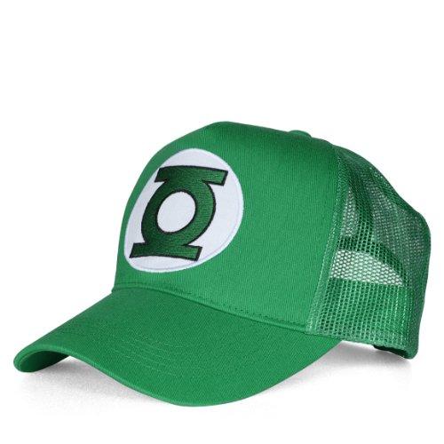 DC Comics DC-Green Lantern-Logo, Gorra de béisbol Unisex Adulto, Verde Talla única