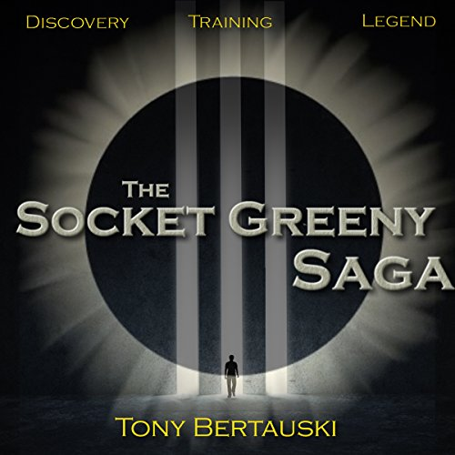 The Socket Greeny Saga audiobook cover art