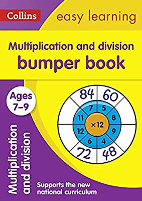 Multiplication & Division Bumper Book Ages 7-9 (Collins Easy Learning KS2) from Collins