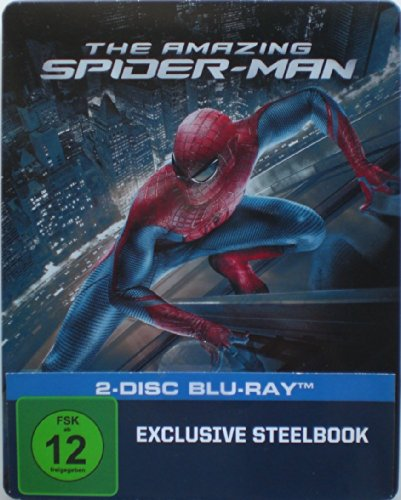 The Amazing Spider-Man 2-Disc Blu-Ray Steelbook
