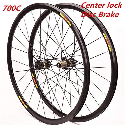 MZPWJD - Fahrradfelgen in Black, Größe 700c