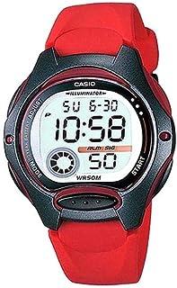 Casio Boys's Grey Dial Rubber Band Watch - LW-200-4AVDF