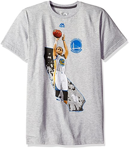Stephen Curry Golden State Warriors Majestic NBA 'Bigger Prize' Player T-Shirt Camicia