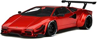 Lamborghini Khyzyl Saleem Huratach Red Limited Edition to 400 Pieces Worldwide 1/18 Model Car by GT Spirit for Kyosho KJ027