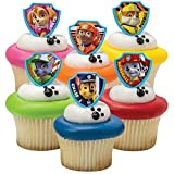 30 Paw Patrol Cupcake Toppers from Blue Fox Baking