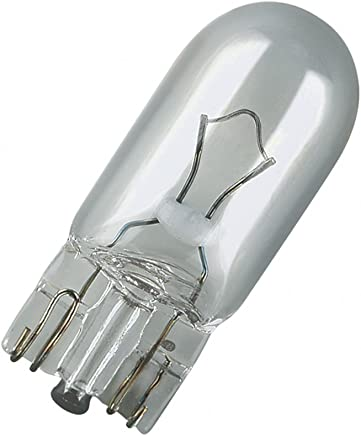 OSRAM ORIGINAL W5W Halogène Rear Position et Plaque d'Immatriculation Light 2825-02B 12V Blister Double Set de 2