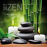 Zen 2017 - Broschürenkalender (30 x 60 geöffnet) - mit Weisheiten - Meditationskalender- Wandplaner