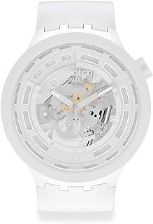 Montre Swatch Big Bold Next BIOCERAMIC SB03W100 C-White