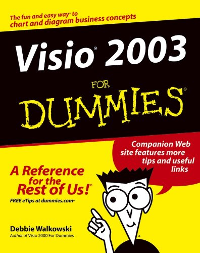 Visio 2003 For Dummies (English Edition)