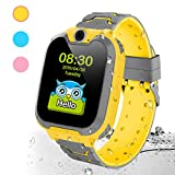 Deyawe Kids Smart Watch Phone,Colorful Touch Screen Smartwatch with Camera Games Touch Screen SOS...