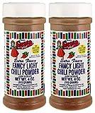 Bolner's Fiesta Brand Salt-Free No MSG Light Chili Powder, 4 Ounce Shaker (Pack of Two)