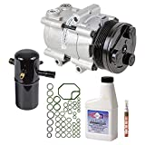 AC Compressor & A/C Kit For Ford Crown Victoria Mercury Grand Marquis Lincoln Town Car 1998 1999 2000 2001 2002 -...