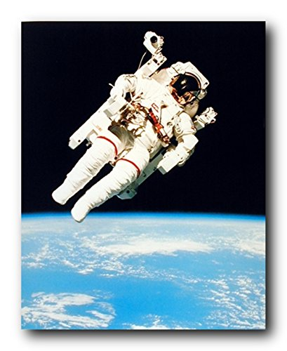 NASA Astronaut in Space Educational and Motivational Wall Decor Art Print...
