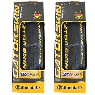 Continental GatorSkin DuraSkin Tire, 2-Count (Folding, 700 x 28mm)