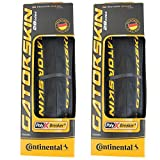 Continental GatorSkin DuraSkin Tire, 2-Count (Folding, 700 x 23mm)